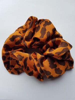 Panter print scrunchie