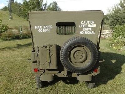 Jeep Canvas Hood stencil Set ww2 war army willys Ford Hotchkiss
