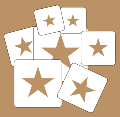 M Series Star set 6,5,4,3 and 2