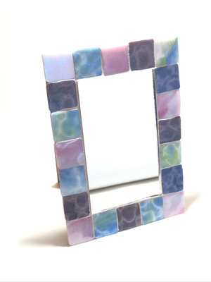 Mosaic Glass Mirror
