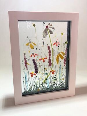 Multi flowers In Box Frame