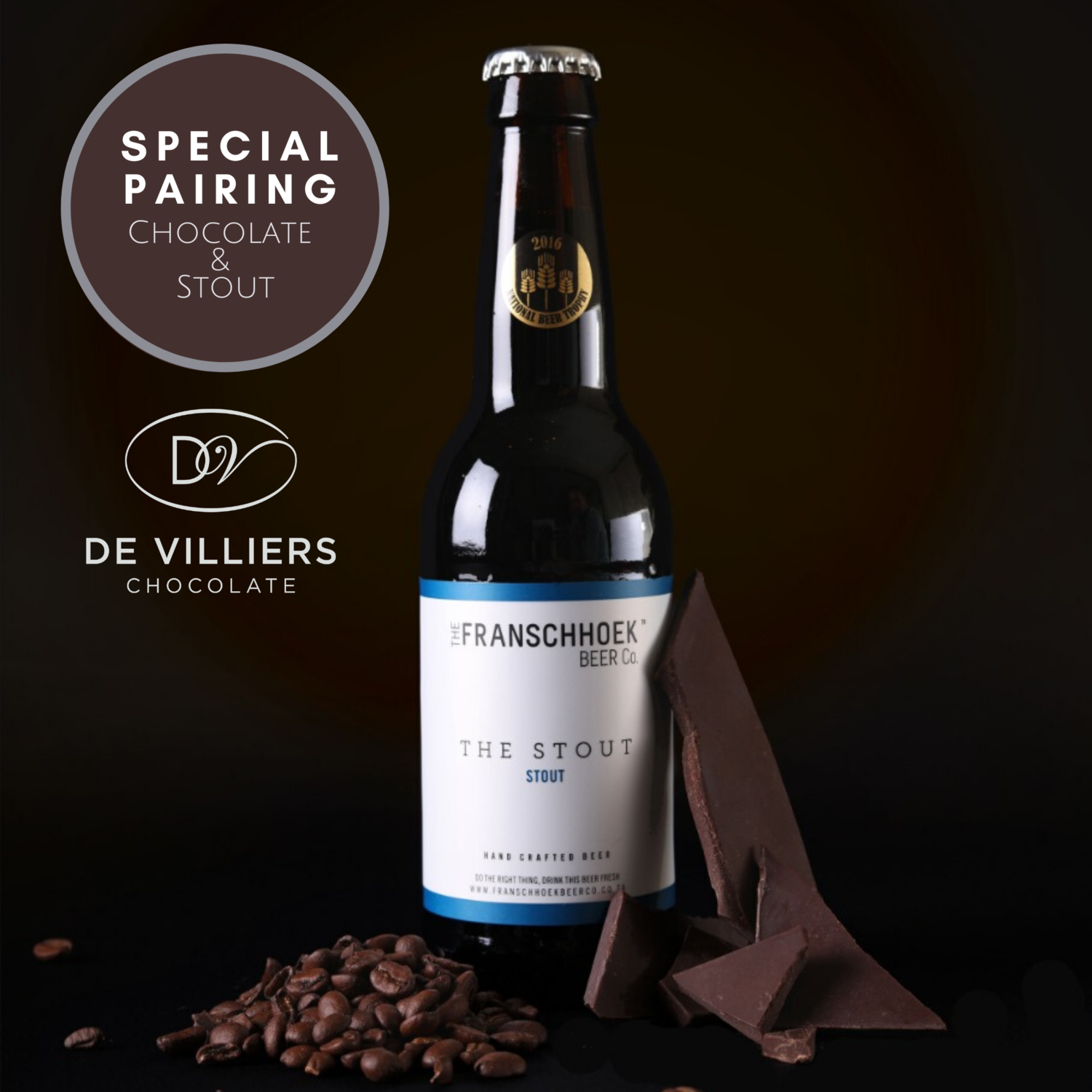 Stout and Chocolate pairing