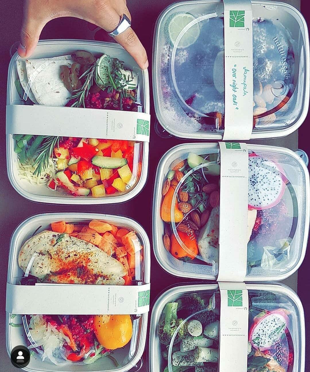 18 Meals custom made