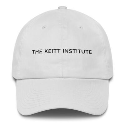 Keitt Institute Black Logo Dad Cap
