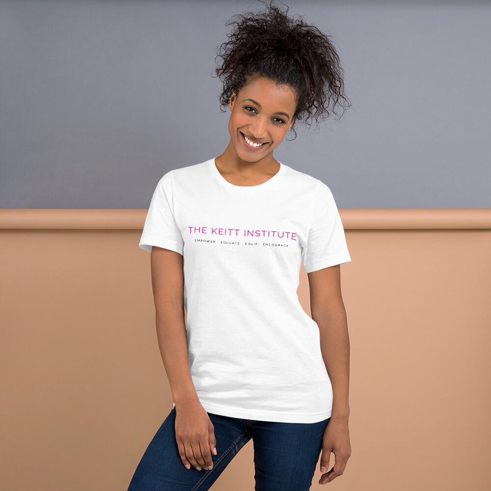 Keitt Institute Pink & Black Logo T-Shirt