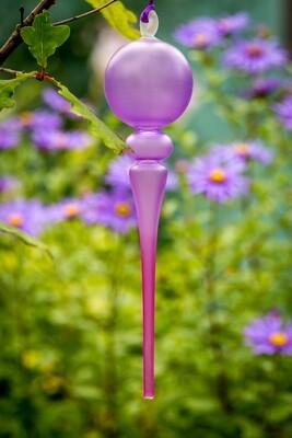 Purple Glass Bauble