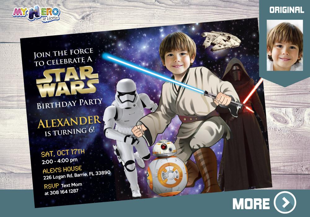 Star Wars Invitation. Jedi Invitation. Star Wars Party. Jedi Party Ideas. Star Wars Birthday. Star Wars Decor. Kylo Ren. Stormtroopers. 007