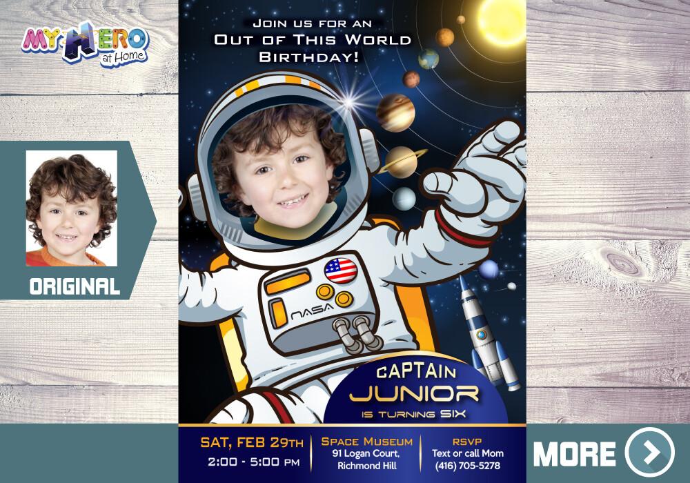 Astronaut Theme Birthday. Astronaut Party. 235
