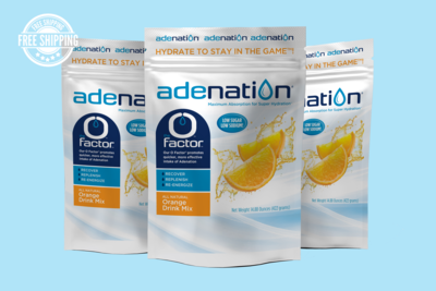 AdeNation® Hydration Orange Mix - Case of 15 Pouches