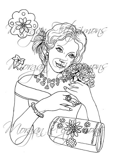 Wedding Digi Stamp 4