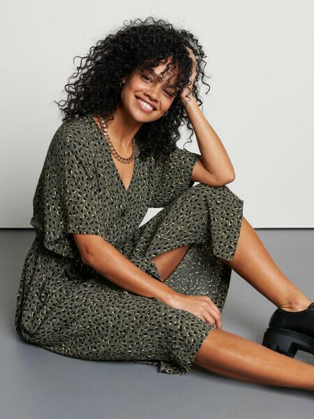 Juicy Leopard Dress
