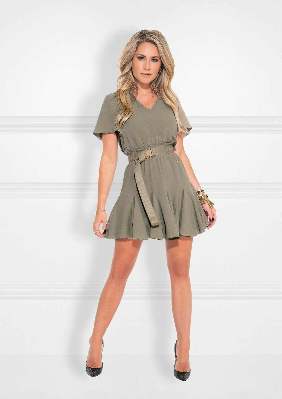 Romy Dress Olive