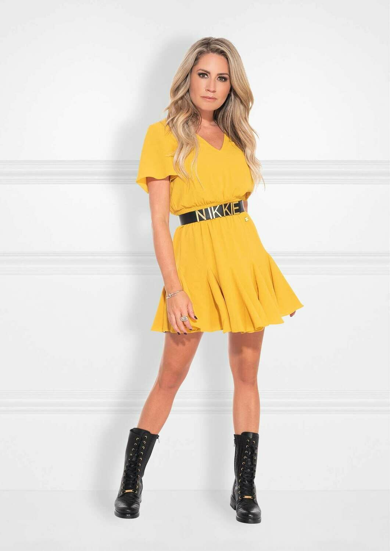 Romy Dress Geel