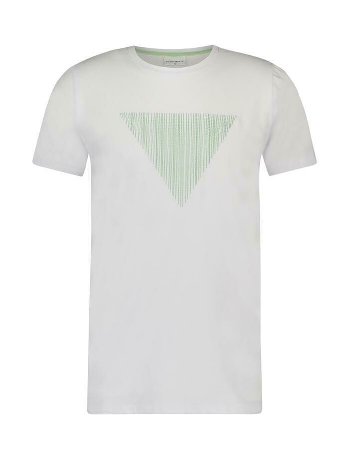 Embroidered Triangle Shirt