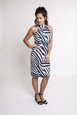 Zoe Zebra Dress