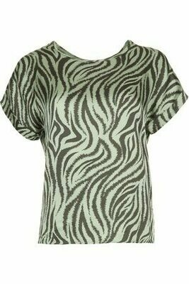 Merle Zebra Top
