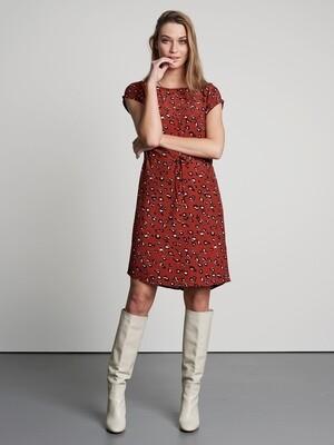 Clouded Leopard Midi Dress