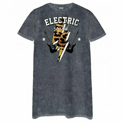 Electric Sound Tee Dress