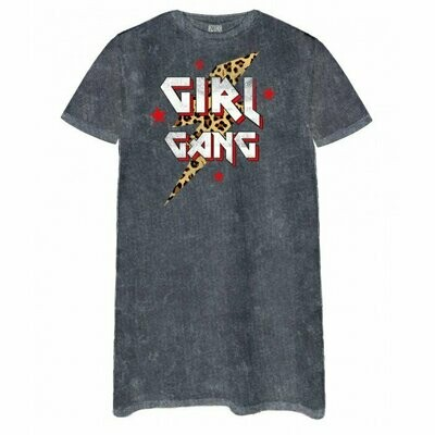 Girl Gang Tee Dress
