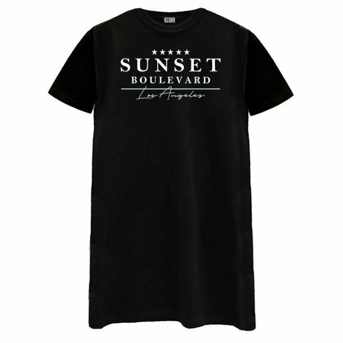 Sunset Boulevard Tee Dress