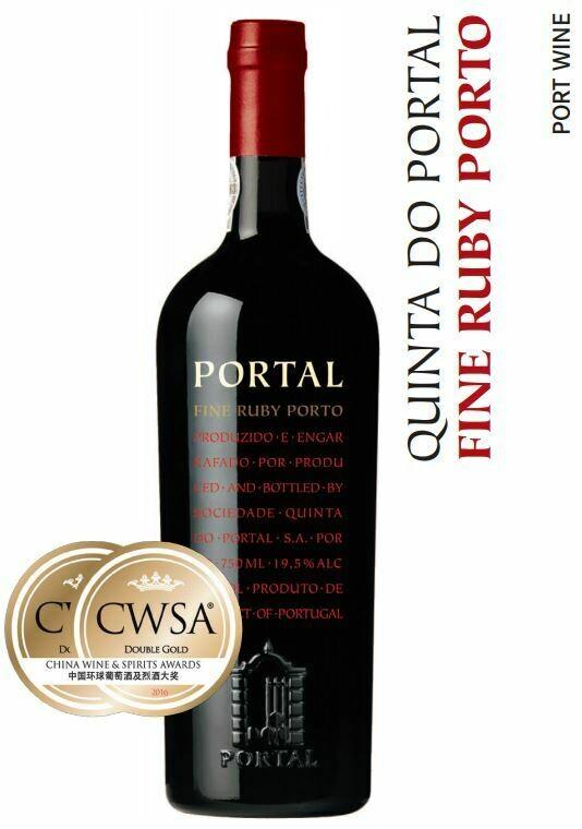 Quinta Do Portal Fine Ruby Porto - 75cl