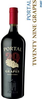 Quinta Do Portal 29 Grapes Ruby Reserve Porto - 75cl