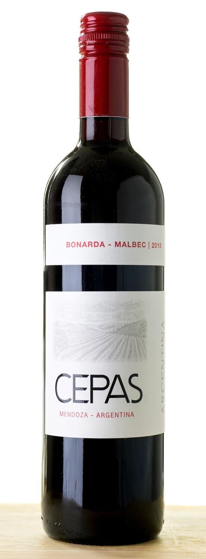 Cepas Bonarda/Malbec - 75cl