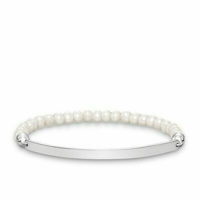 Thomas Sabo armband Love Bridge LBA0001 parel