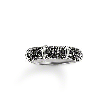 Thomas Sabo ring TR1902 zwart