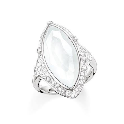 Thomas Sabo ring TR2041 Z15 wit
