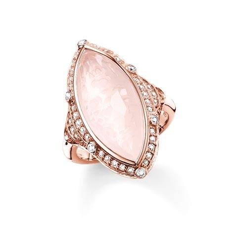Thomas Sabo ring TR2041 Z15 roze