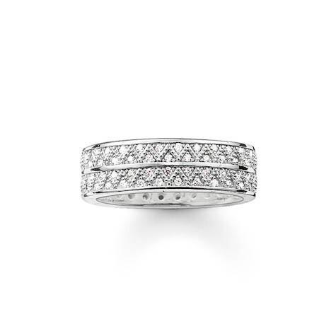 Thomas Sabo ring TR2051 Z15 wit