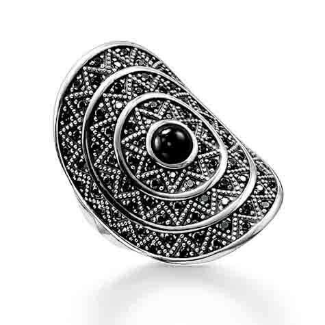 Thomas Sabo ring TR2053 Z15 zwart