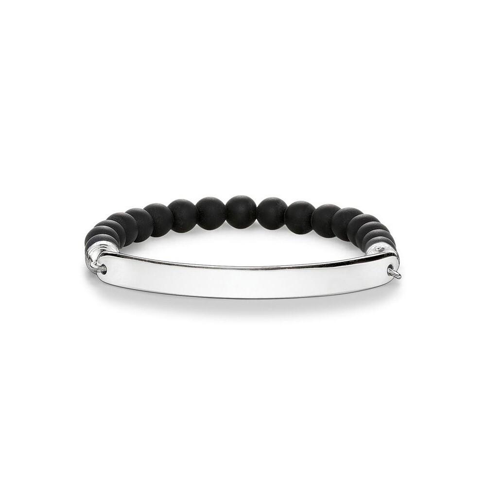 Thomas Sabo armband Love Bridge LBA0014 zwart