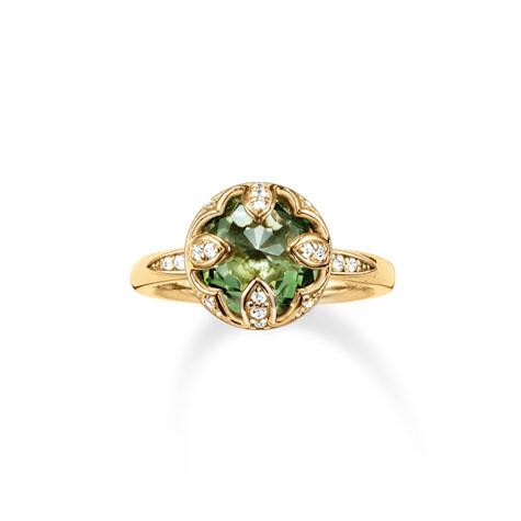 Thomas Sabo ring TR2027 groen