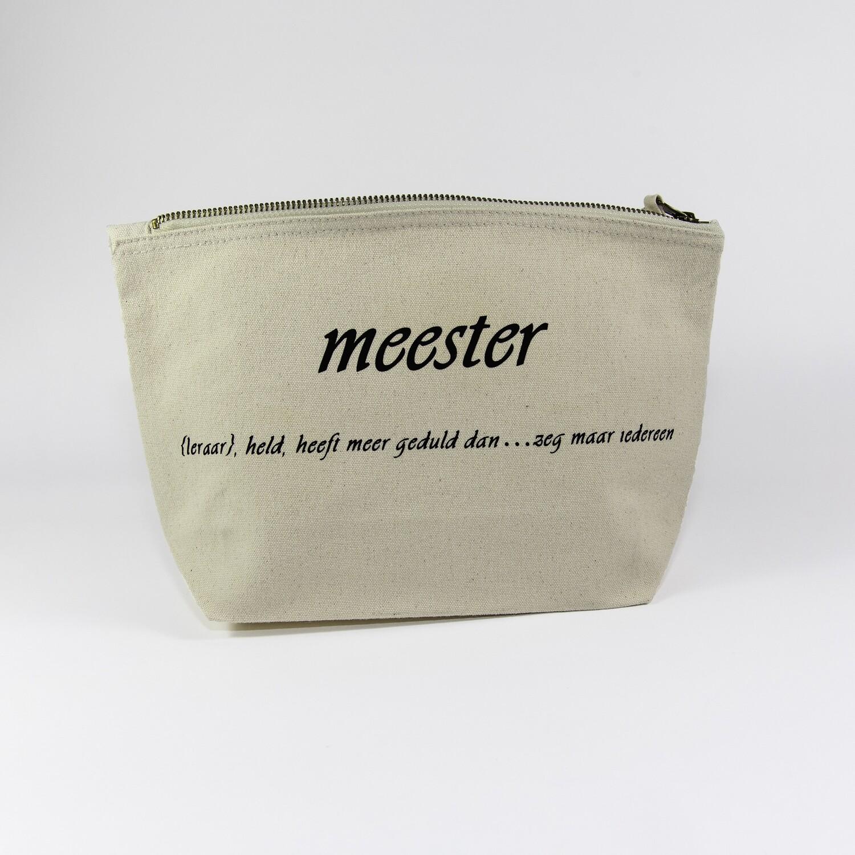 Toilettas Meester/Juf