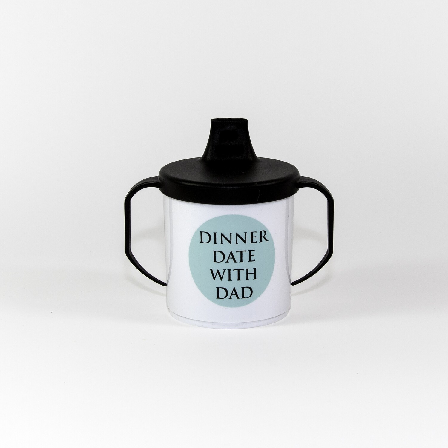 """Beker """"dinner date with dad"""" (mint)"""