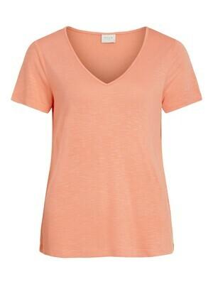 ViNoel V-neck T-shirt (Verkrijgbaar in 2 kleuren)
