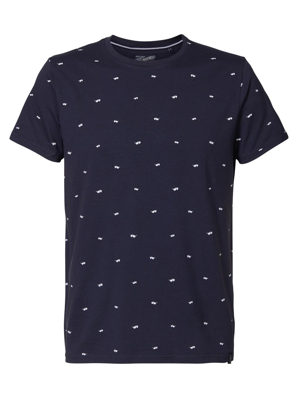 T shirt bril deep blue