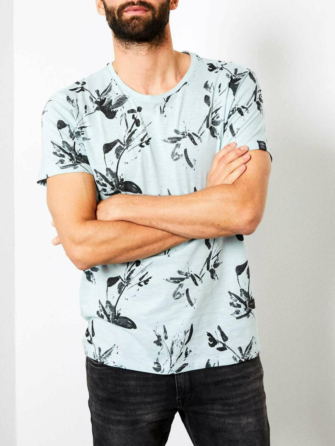 T-shirt Faded Pine