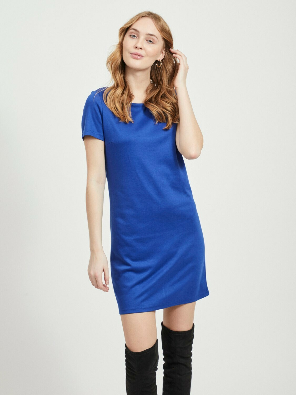 Vitinny s/s dress mazarine blue