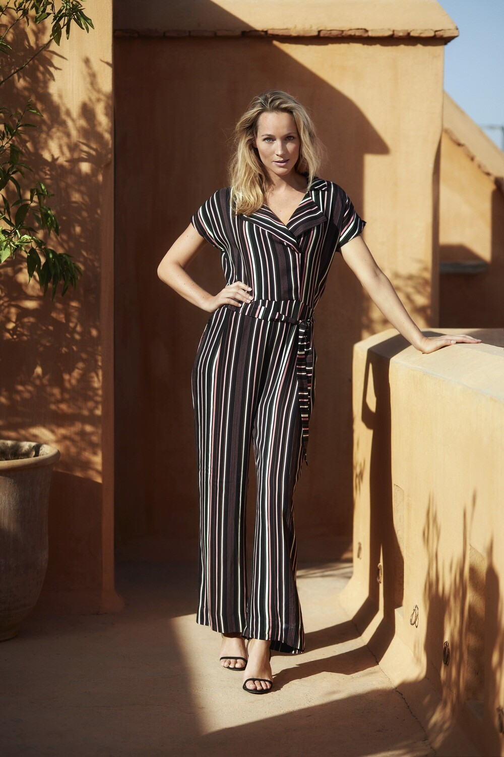 Jumpsuit Multi Stripe