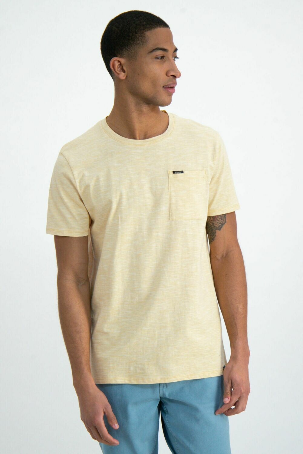 T-shirt Yellow Rock