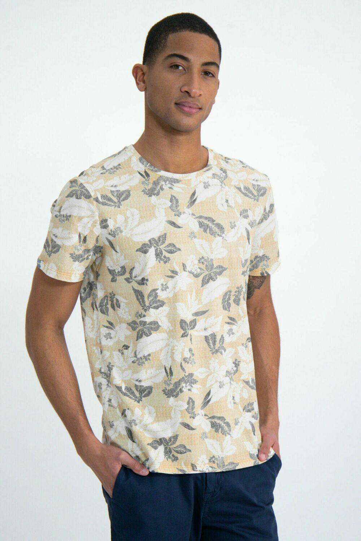 T shirt yellow rock