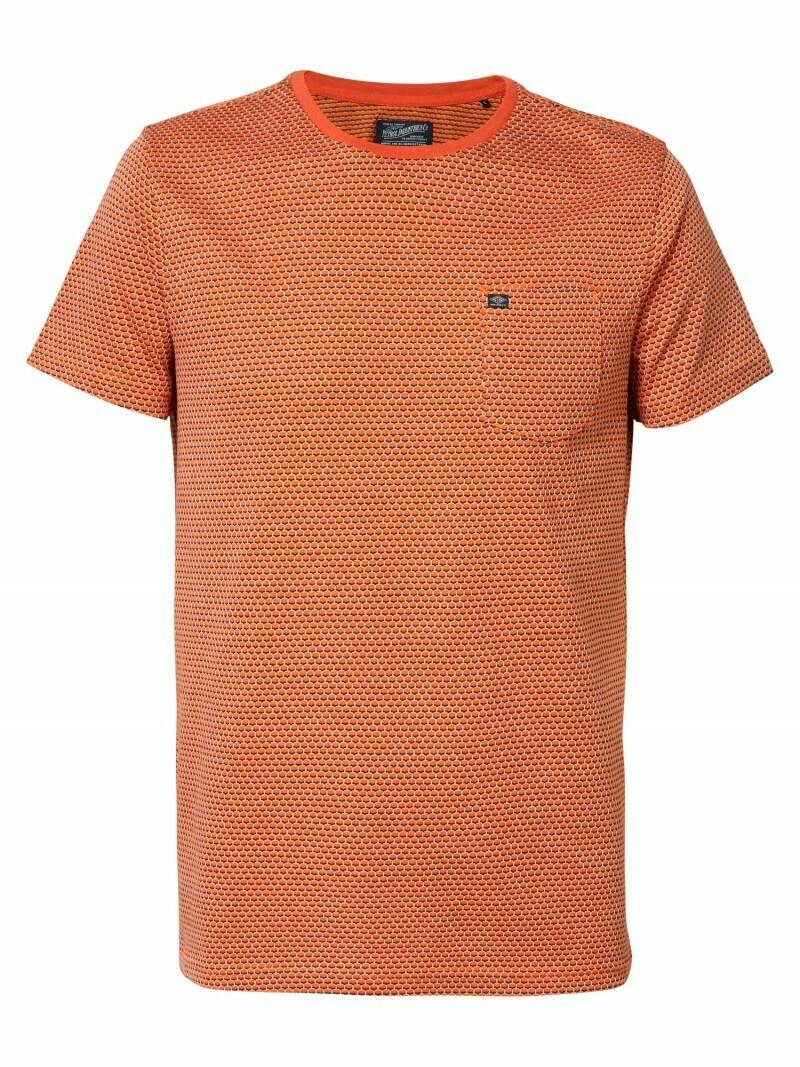 T-shirt met zakje