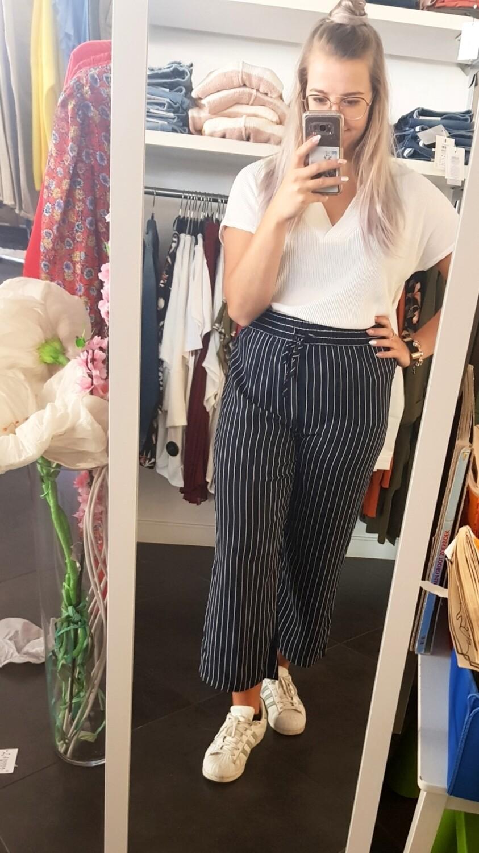JdyStarr wide cropped pants