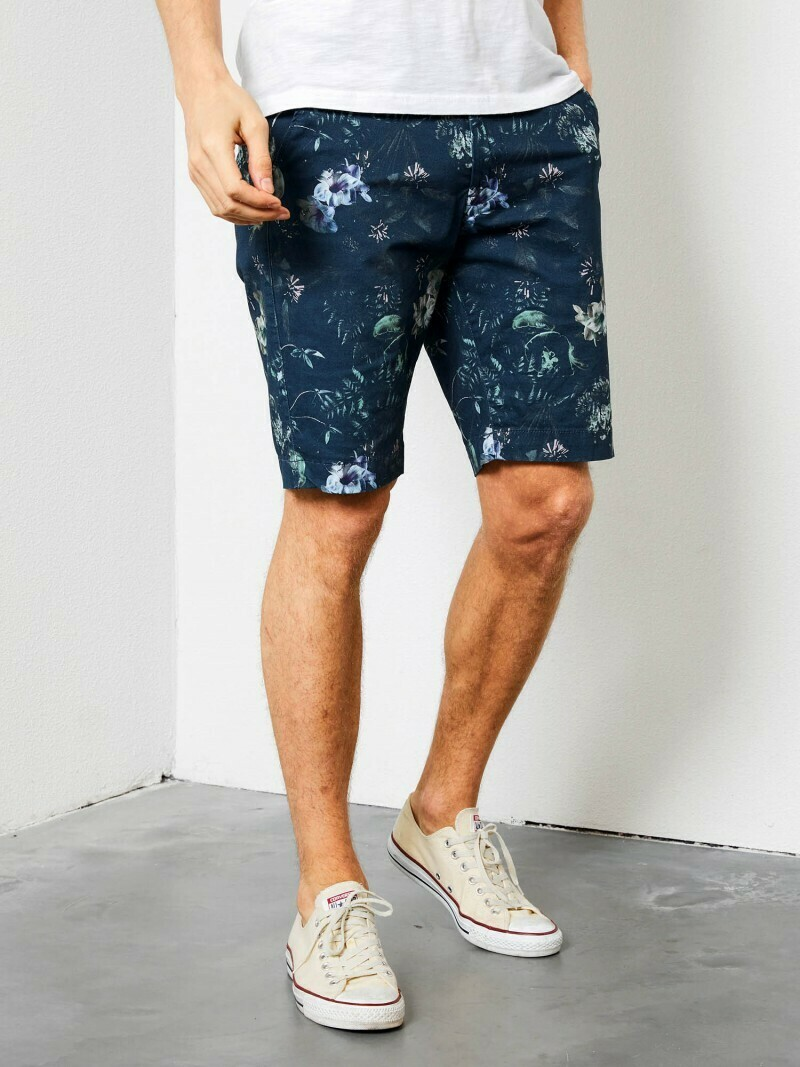 Chino Short Dark Turquoise