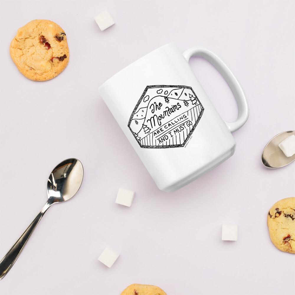 Mug - The Mountains are Calling