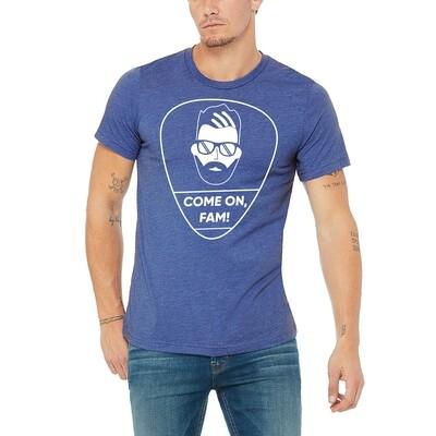 Come On Fam Shirt Heather Blue