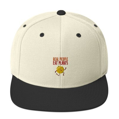 Real People Eat Plants Snapback Hat Muskmelon